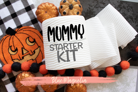 Mummy Starter Kit Toilet Paper Roll