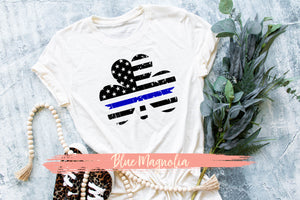 Thin Blue Line Clover