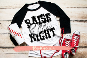 Raise 'Em Right - Baseball