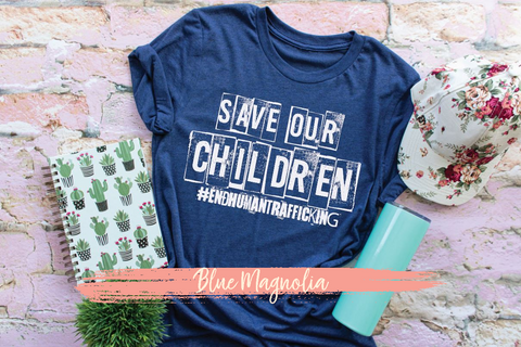 Save Our Children - White
