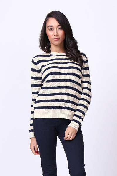 STRIPE SLOPPY JUMPER