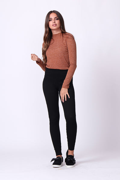 BASIC CABLE KNIT LEGGING