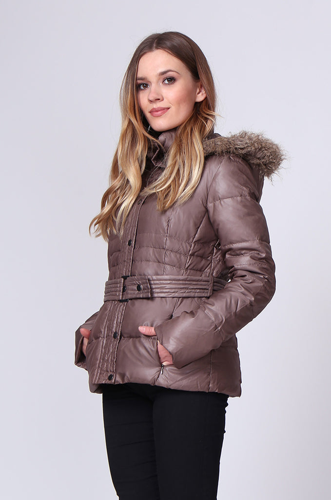 SHORT LINE PUFFA PARKA view 2