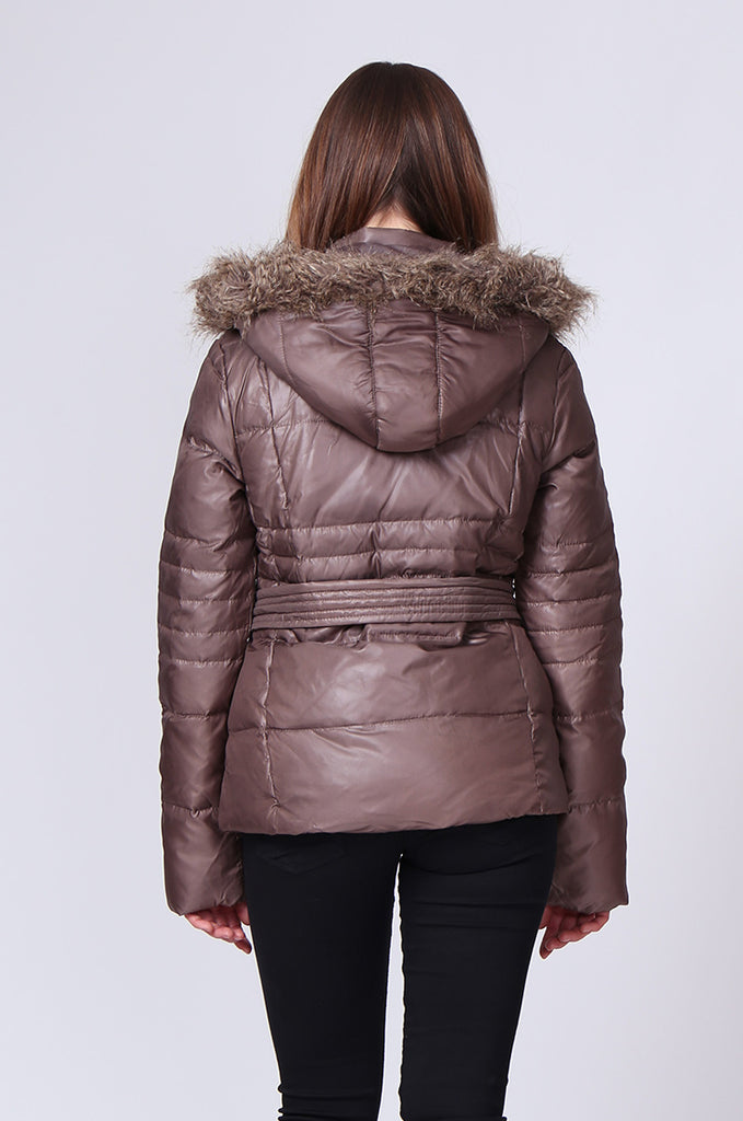 SHORT LINE PUFFA PARKA view 3