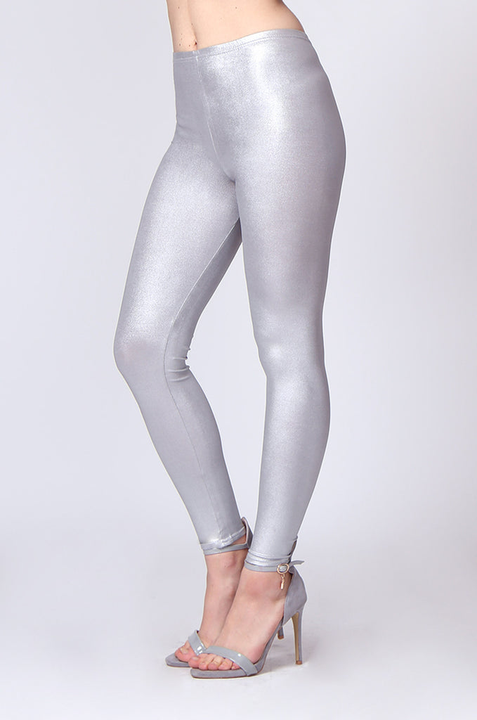 WET LOOK LEGGING