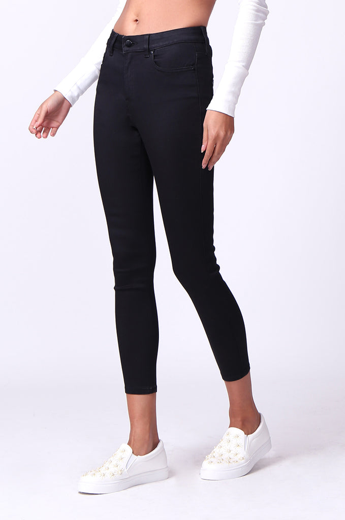SF0230-BLACK POPPY SKINNY JEANS view 4