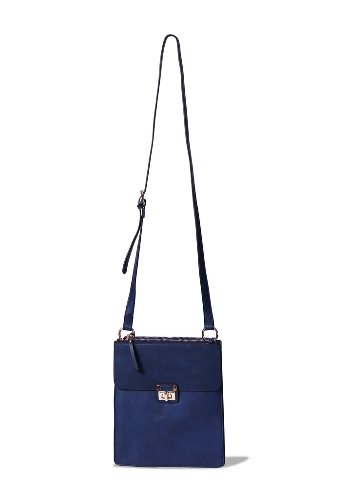SMB0403-BLUE SQUARE SMALL CROSSBODY BAG