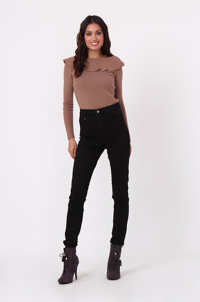 BLACK SKINNY STRETCH JEAN