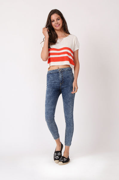 STRETCH ANKLE LENGTH JEGGING