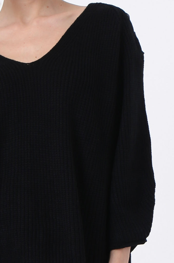 SJ0341-BLACK RIBBON DETAIL JUMPER view 5