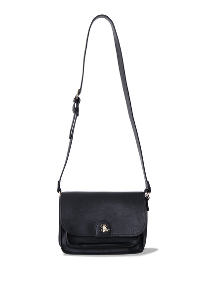 INSECT STUD CROSSBODY BAG