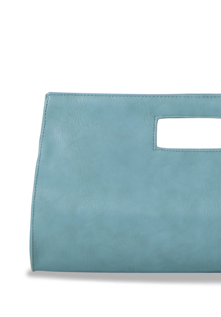 SMB0461-GREEN CUT OUT HANDLE CLUTCH view 2