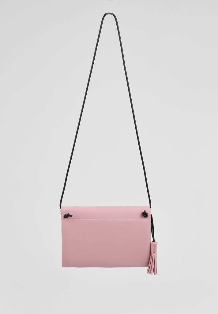 SMB2680-PINK TASSLE ENVELOPE SHOULDER BAG view 2