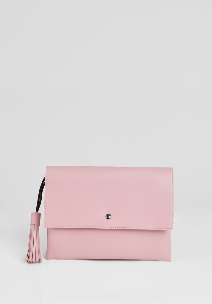 SMB2680-PINK TASSLE ENVELOPE SHOULDER BAG view 3