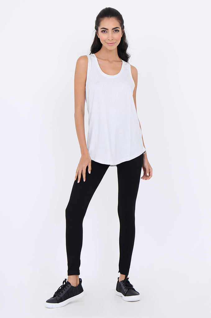 SMT1840-BLACK BASIC KNITTED LEGGINGS