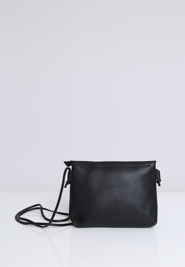 SOY1536-BLACK COLOUR STUD CROSSBODY BAG view 4