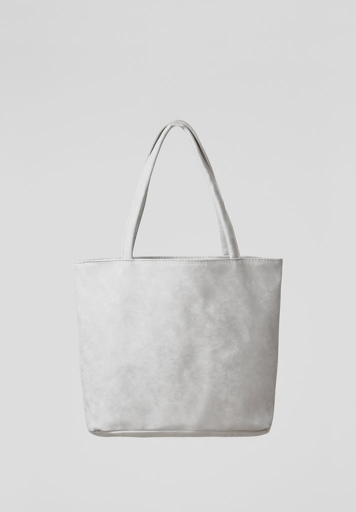 SOY2810-GREY MEDIUM SHOPPER BAG view 3