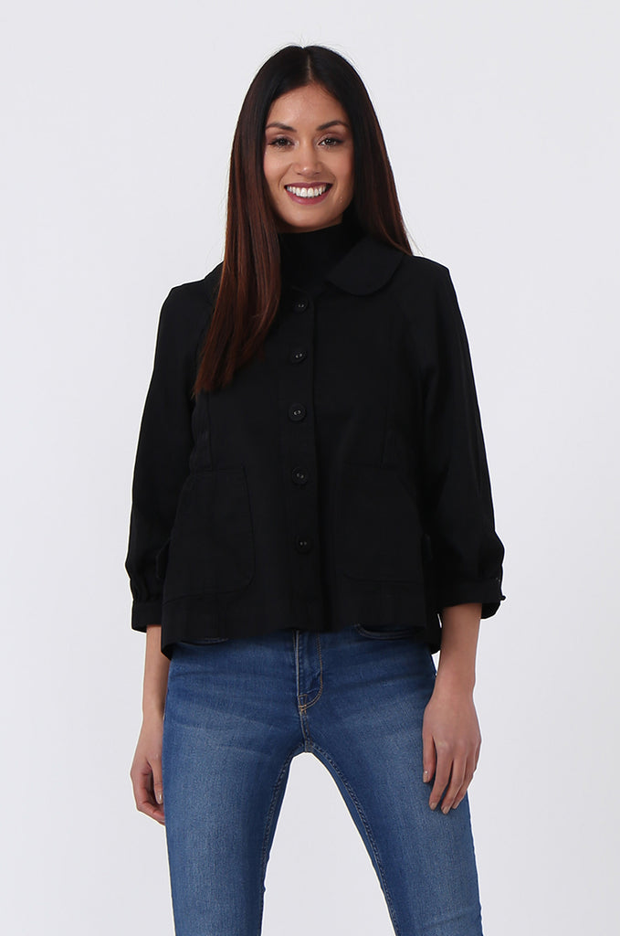 CANVAS PATCH POCKET JACKET