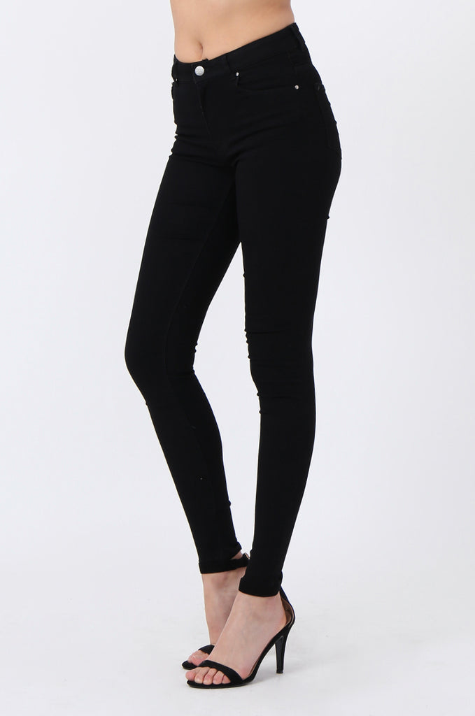 HIGH RISE STRETCH SKINNY JEANS
