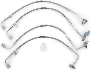 Russell Performance 07-08 Jeep Wrangler JK with 4in Lift Brake Line Kit