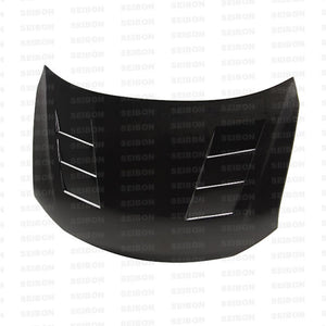 Seibon 11-13 Scion tC (AGT20L) TS-style Carbon Fiber Hood (Does not fit 14)