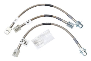 Russell Performance 94-95 Ford Mustang GT (Front & Rear Center Hose) Brake Line Kit