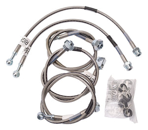 Russell Performance 01-06 GM Silverado/Sierra HD (All) (Also fits Rancho) Brake Line Kit