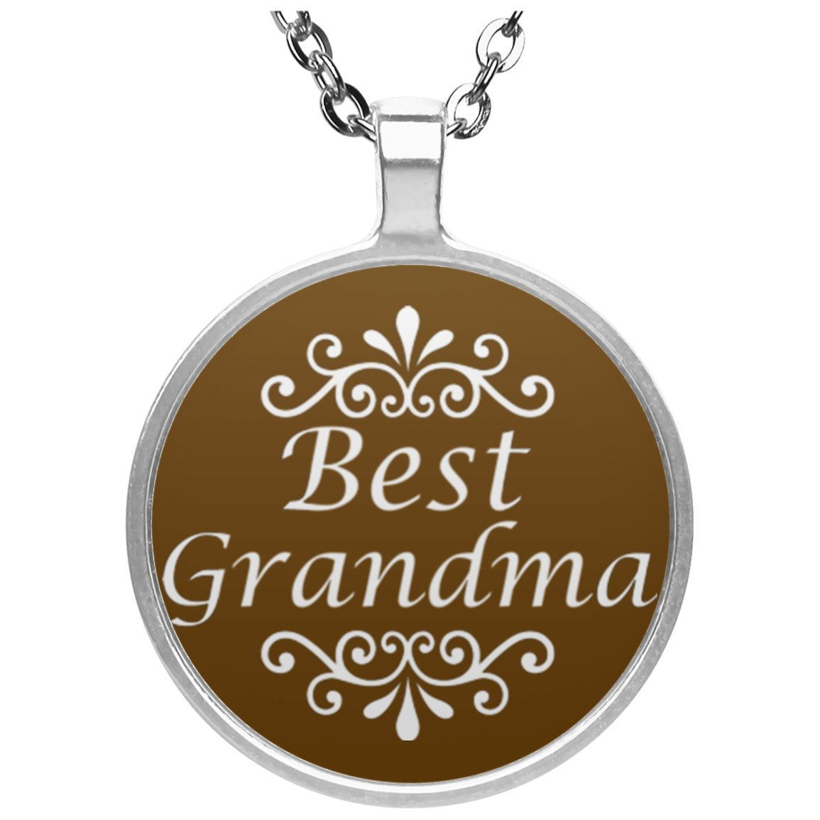 Best grandma circle pendant necklace great gift for grandma best grandma circle pendant necklace great gift for grandma for grandparents only aloadofball Image collections