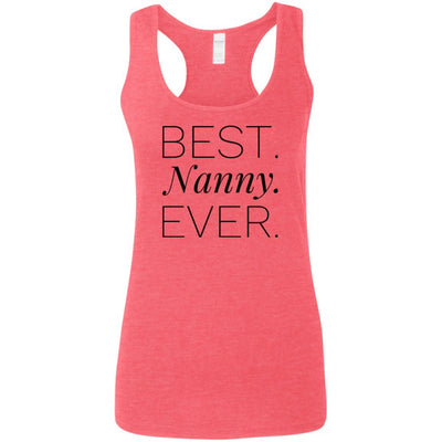 Best. Nanny. Ever - Tank Top - Great gift for Nanny-For Grandparents Only