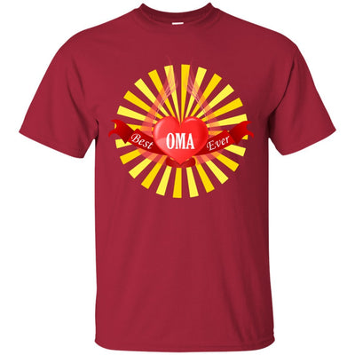 Best Oma Ever - Heart with Wings and Sun - Shirt - Great gift for Oma-For Grandparents Only