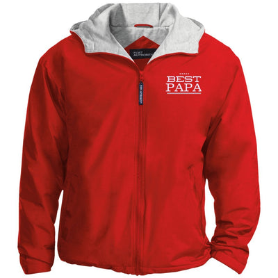 Best Papa - Port Authority Men's Embroidered Jacket - Great gift for Papa-For Grandparents Only