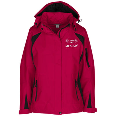 Blessed Memaw - Port Authority Ladies' Embroidered Jacket - Great gift for Memaw-For Grandparents Only