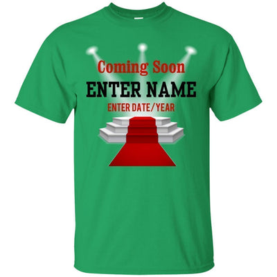 Coming Soon.. (Enter Name) (Enter Date/Year) Newborn baby reveal - Shirt-For Grandparents Only