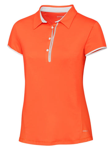 Annika Competitor Golf Polo LAK06389 Juice
