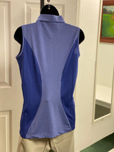 Kate Lord Douglas Sleeveless Solid/Heather Polo LB07 Lapis/Heather