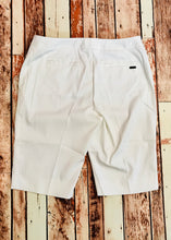 Ladies Cutter & Buck White Pintuck Golf Short LCB04671
