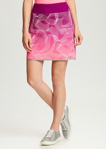 Annika Intuition Printed Pull On Golf Skort LAB00017