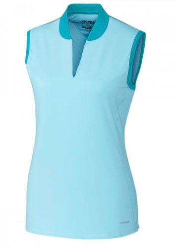 Annika Calibrate Sleeveless Top Shine Blue LAK00121
