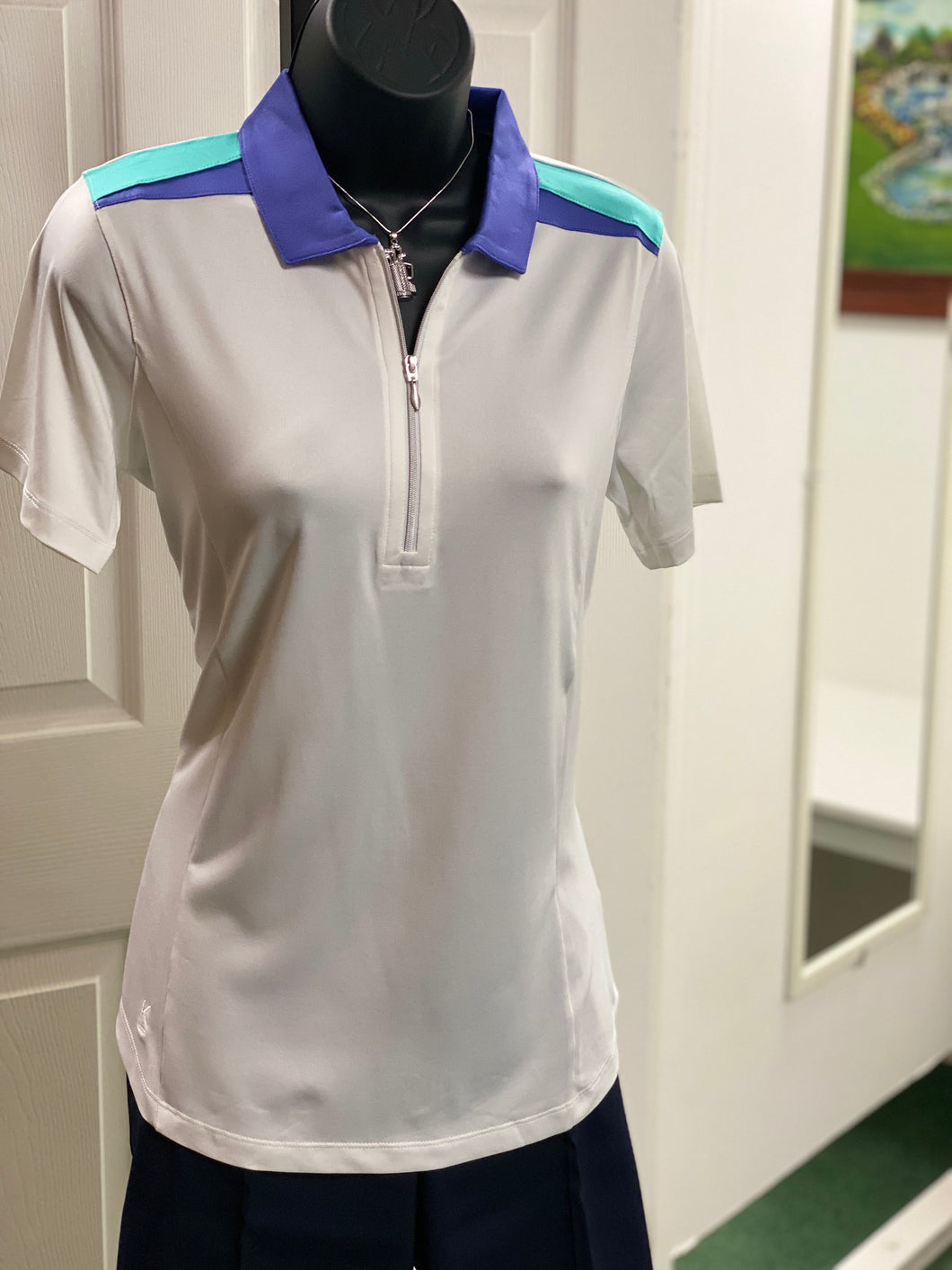 Kate Lord Deerfield Colorblock Golf Polo KC22