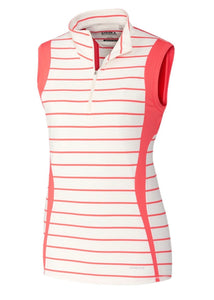Annika Swerve Sleeveless Stripe Half-Zip Daylight/Sport LAK00122