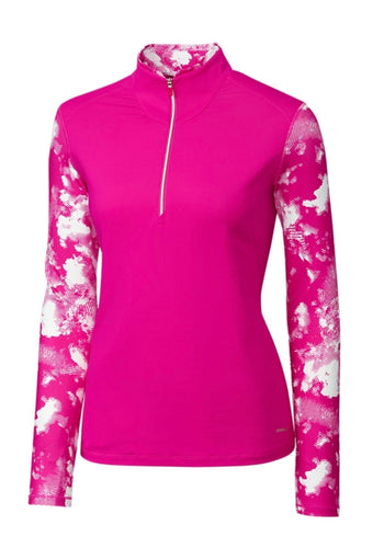 Annika Energy Mock Half-Zip LAK00098 Thrill Size: Medium