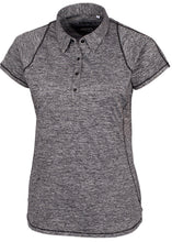 Annika Frequency Polo LAK00094 Black/Grey MEDIUM