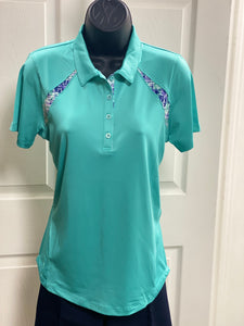 Kate Lord Brooke Golf Polo KC23 Surf