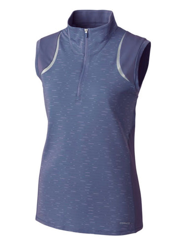Annika Elite Sleeveless Mock Half-Zip LAK00079 Sport Slate