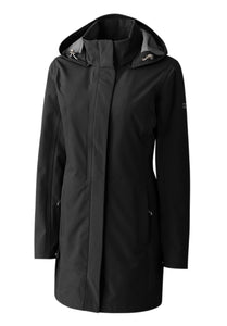 Cutter and Buck Ladies' Shield Hooded Jacket MEDIUM LCO00028 Black