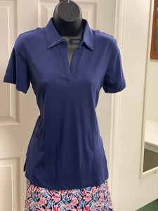 Ahead Carlyle Cotton Modal Ladies Polo SK12 Sailor