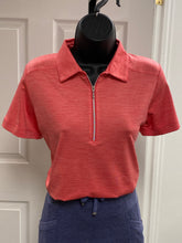 Kate Lord Corinth Space Dye Golf Polo KE03 Poppy