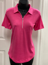Kate Lord Corinth Space Dye Golf Polo KE03 Dahlia