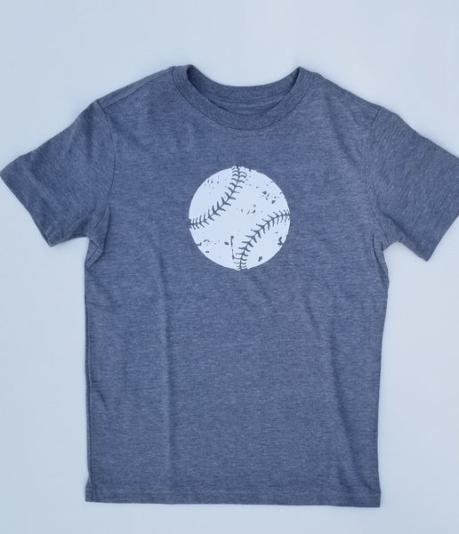 Youth Distressed Baseball T