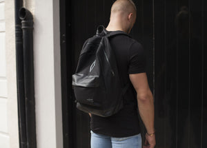 £10 CLEARANCE - Signature VITA VIVET Backpack in Black